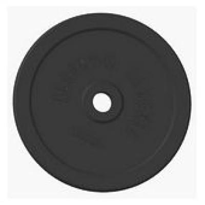 Диск олимпийский обрезиненный черный 25кг. Alex RCP11-25