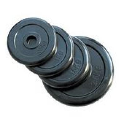 Диск домашний прорезиненный Stein 0,5 кг 25 мм WP-06-0,5
