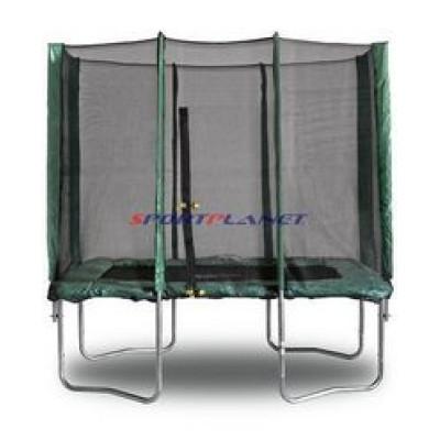 Батут KIDIGO 215х150 см с защитной сеткой