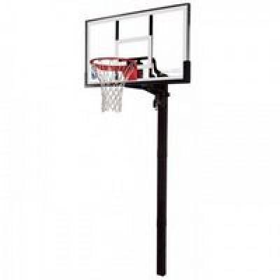 Баскетбольные стойки (стационарные) Spalding 88365CN Acrylic in-ground 54