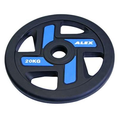 Диск черный Alex 20 кг (P-TPU-20K)