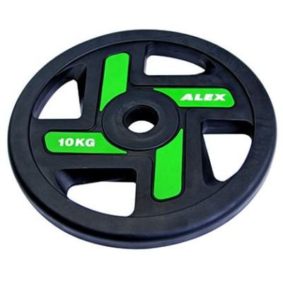 Диск черный Alex 10 кг (P-TPU-10K)