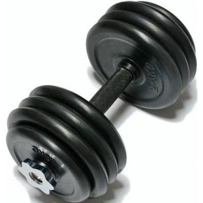 Гантель FitLogic 20 кг резина DB6031-20