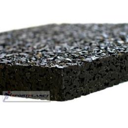 Резиновое покрытие Eco Sport 10мм (черный)