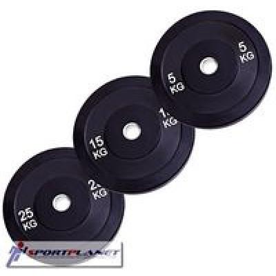 Бамперный диск Rising PL37-10 10 кг