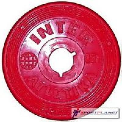 Диск InterAtletika Ф26мм-0,5кг цветные