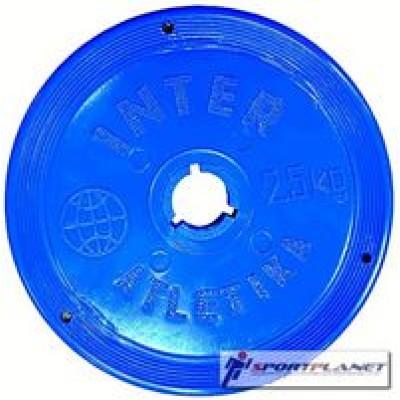Диск InterAtletika Ф26мм-2,5кг цветные