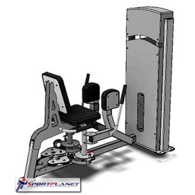 Комбинированный тренажер для приводящих и отводящих мышщ бедра FWF А 108.1